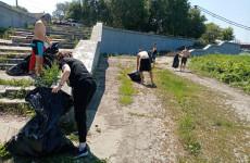 В Пензе провели экологическую акцию «Чистый берег»