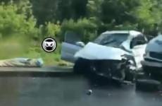Появилось видео с места смертельного ДТП на улице Измайлова в Пензе