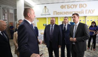 Пензу посетил министр сельского хозяйства РФ Дмитрий Патрушев