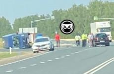 На трассе «Тамбов – Пенза» опрокинулся микроавтобус – соцсети
