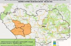 Высокая пожароопасность ожидается в 3 районах Пензенской области