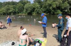 Жителям Железнодорожного района Пензы рассказали о правилах поведения у воды