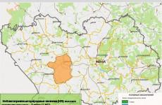 Завтра в одном из районов Пензенской области ожидается высокая пожароопасность