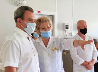 Валерий Лидин оценил процесс производства антиковидной плазмы в Пензе