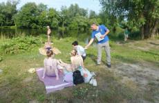 Жителям Ленинского района Пензы напомнили о правилах поведения у водоемов