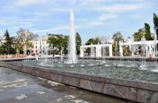 В центре Пензы сломался новый фонтан