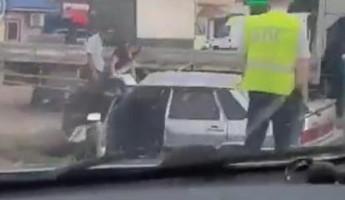 Появилось видео с места жуткой аварии с «ВАЗом» в Пензенской области