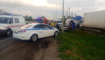 Обнародованы фото с места серьезной аварии с «ВАЗом» в Пензенской области