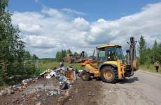 В Октябрьском районе Пензы ликвидировали несанкционированные свалки
