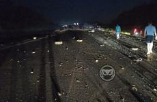 В Пензенской области из-за ночного ДТП перекрыли трассу М-5