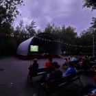 Маленьким пензенцам устроили кинопоказ под открытым небом