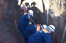 В Пензе рабочего завалило землей при выполнении грунтовых работ