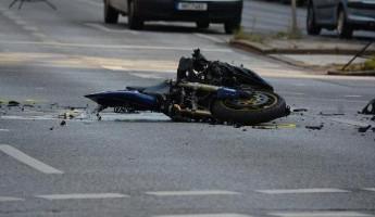 В Пензенской области увезли в больницу молодого мотоциклиста
