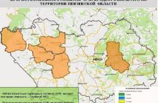 Высокая пожарная опасность прогнозируется в 5 районах Пензенской области