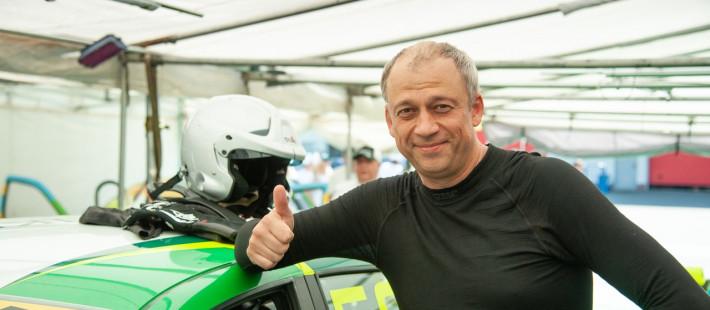 Пензенец выступил в третьем этапе Российской серии кольцевых гонок