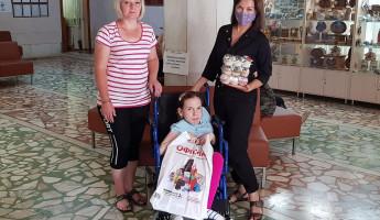 Валерий Лидин продолжает помогать девочке с редким заболеванием