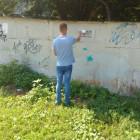 В одном из районов Пензы закрасили около 130 надписей с рекламой наркотиков