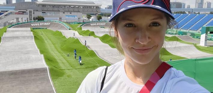 Пензенская гонщица вышла в полуфинал Олимпиады по велоспорту-ВМХ