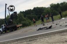 Смертельная авария в Пензенской области: легковушка столкнулась с автобусом