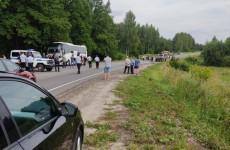 Появились новые фото с места смертельной аварии в Пензенской области