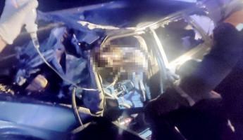 Появились шокирующие фото с места смертельного ДТП под Пензой