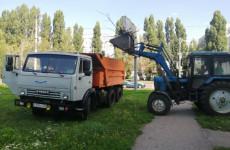 В Октябрьском районе Пензы убрали несанкционированные свалки