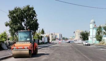 На Бакунинском мосту в Пензе завершают основные строительные работы