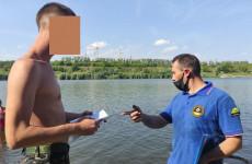 В Октябрьском районе Пензы провели рейды у водоемов