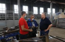 Врио пензенского губернатора посетил филиал «Радиозавода» в Земетчино