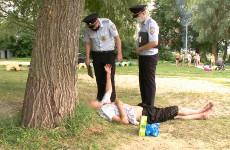 В Пензе полицейские и общественники провели профилактический рейд по местам отдыха граждан