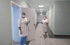 В Пачелмской участковой больнице отремонтировали терапевтическое отделение