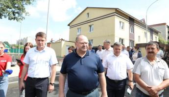 Врио пензенского губернатора осмотрел дом, построенный для детей-сирот