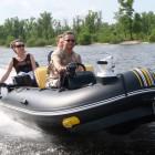 На Сурском водохранилище едва не утонули две женщины