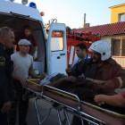 Спасатели тащили пензенского велосипедиста на себе два километра