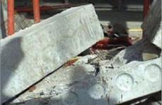 На жителя Пензенской области свалилась железобетонная плита