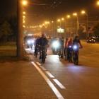 Пензенцы устроили ночной велозабег