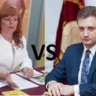 Битва титанов: чем померятся Коломыцева и Камнев на дебатах?