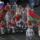 Белорусские спортсмены вынесли российский флаг на церемонии открытия Паралимпиады-2016