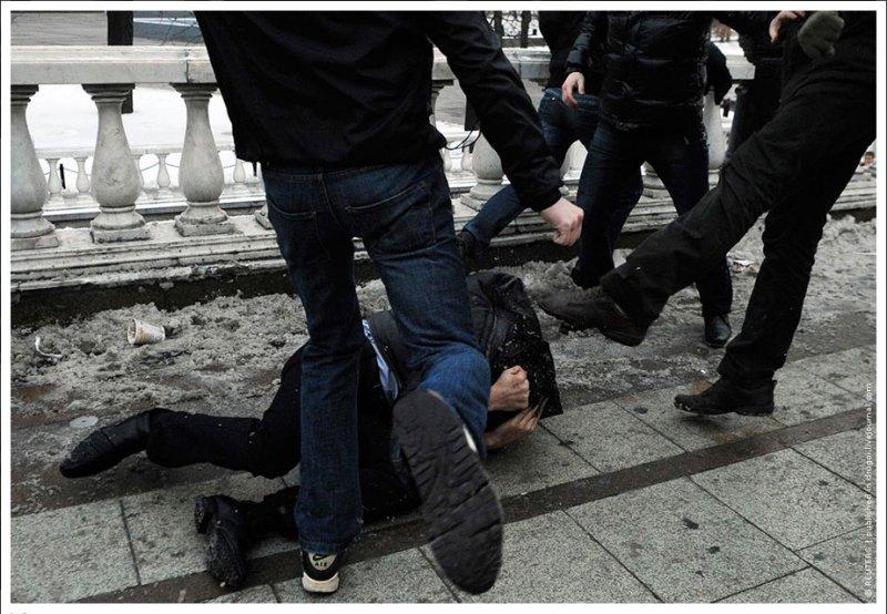 ВПензе трое мужчин изУльяновска избили иограбили 16-летнего подростка