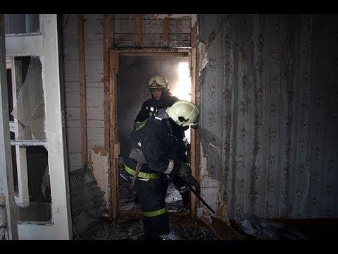 Ночью вПензе полыхнули дом ижилая квартира