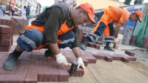 ВПензе тротуары выложат плиткой за107 млн руб.
