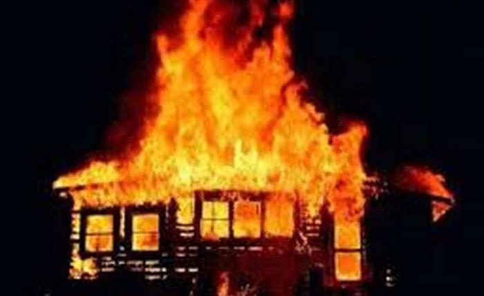 Впожаре вселе Рахмановка умер мужчина