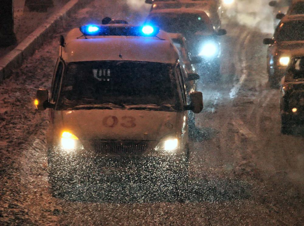 Натрассе под Н. Ломовом погибли два человека, пострадали трое
