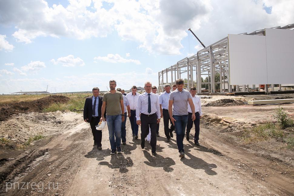 ВПензенской области вскоре будет введена вэксплуатацию ферма повыращиванию шампиньонов