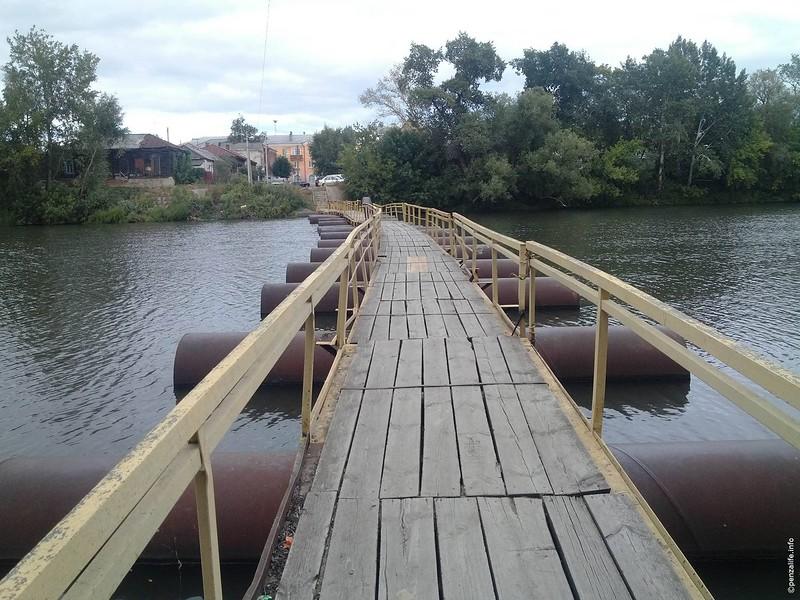 ВПензе ремонт моста на о. Пески начнется 26сентября