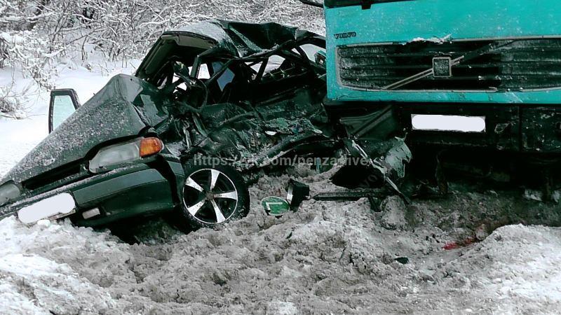 ДТП с грузовым автомобилем вРязанской области: один человек скончался