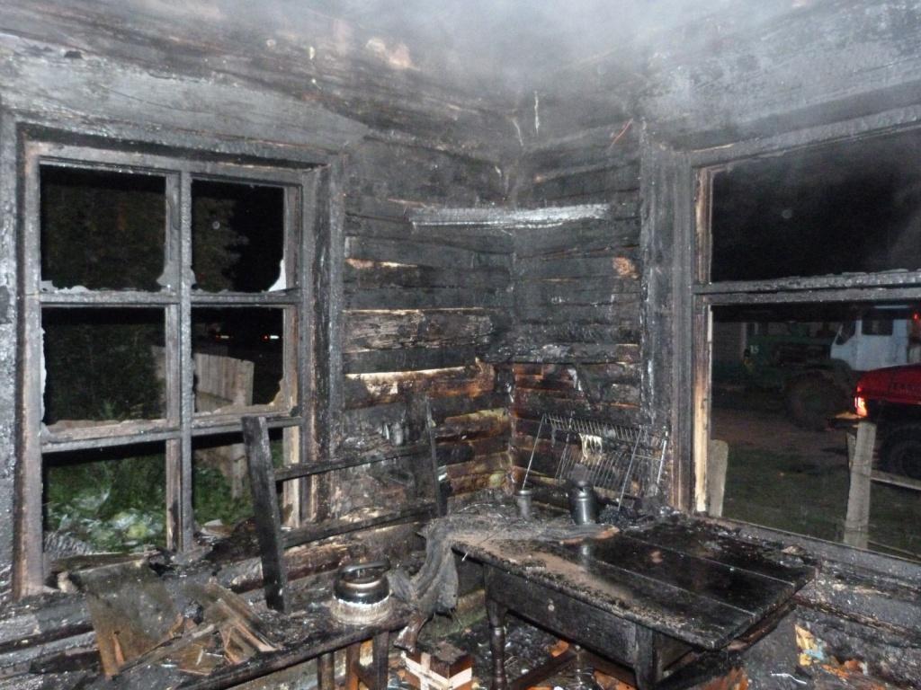 ВПензенской области впожаре вбесхозном помещении погибли двое мужчин