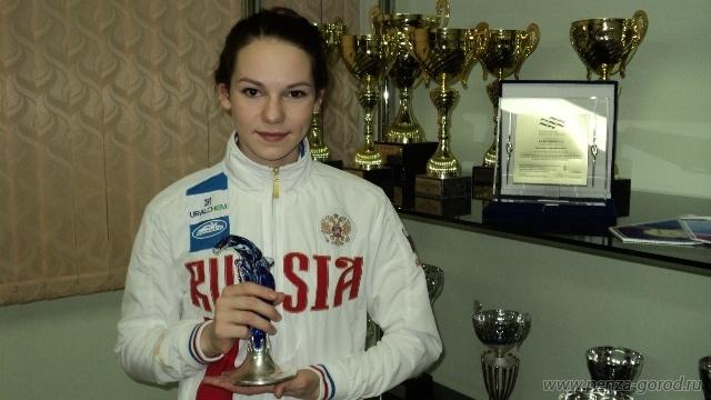 Пензячка— чемпионка РФ поплаванию