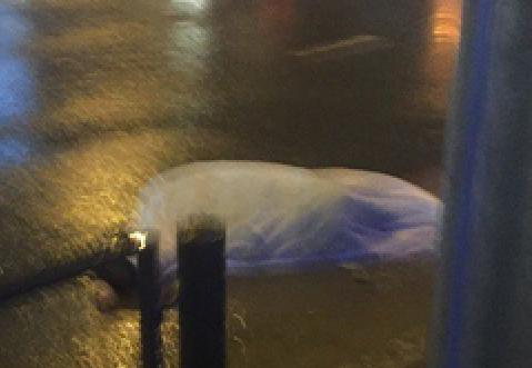 Рано утром вПензе автомобиль такси насмерть сбил пешехода