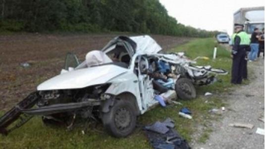 Фото смертоносного ДТП под Пензой: погибли 3 человека, включая ребенка